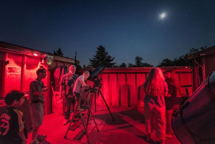 CAA Observatory - Photo by Alan Studt