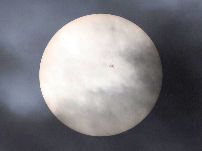Photo: Sunspot group AR1476, May 2012, by Jay Reynolds.