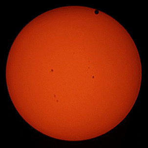 Photo: Transit of Venus by Joe Hamlin