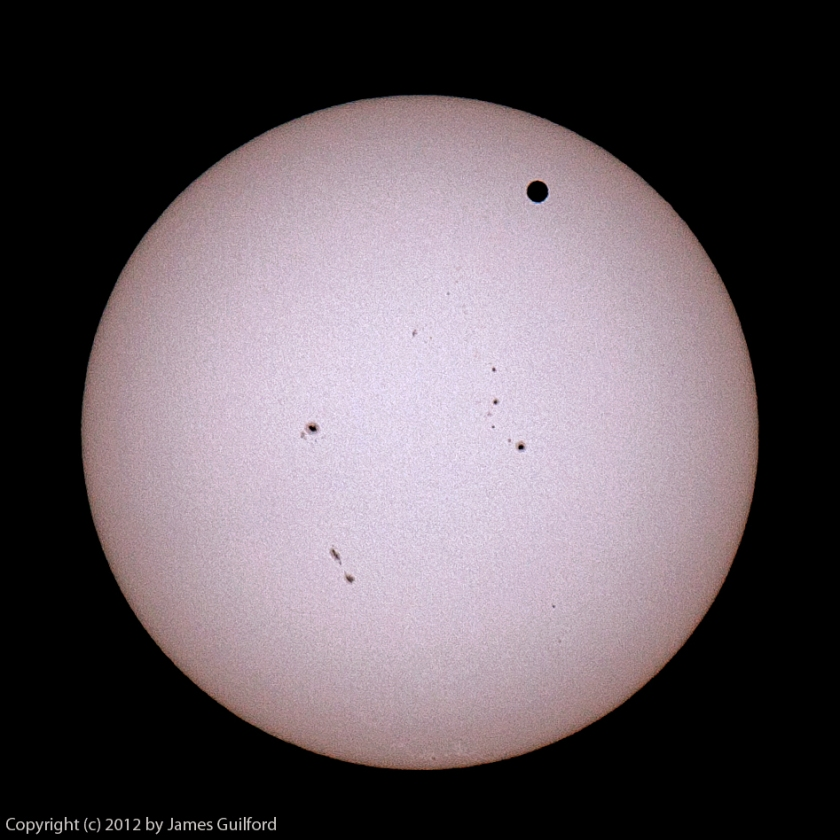 Photo: Transit of Venus by James Guilford