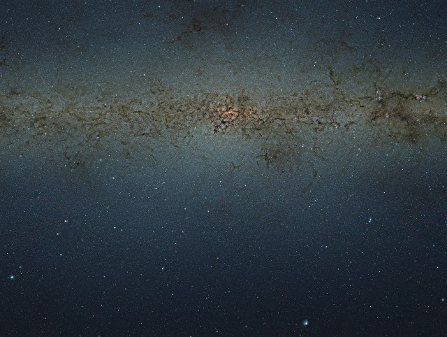 Photo: Central bulge of the Milky Way Galaxy. ESO/VVV Consortium Acknowledgement: Ignacio Toledo, Martin Kornmesser