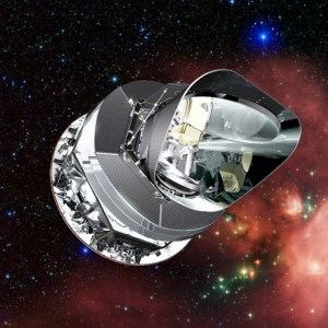 Image: Artist's concept: Planck spacecraft. Credit: ESA/NASA
