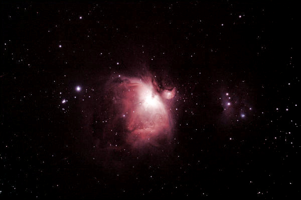 Image: M42: The Great Orion Nebula, by Keven Tag.
