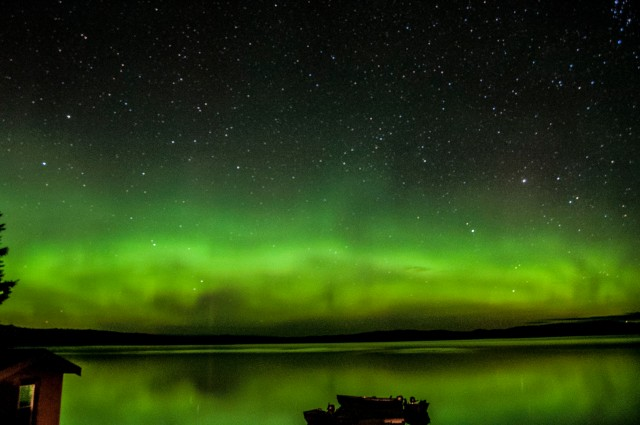 Photo: Aurora as Seen in Canada, August 2013 - David Nuti