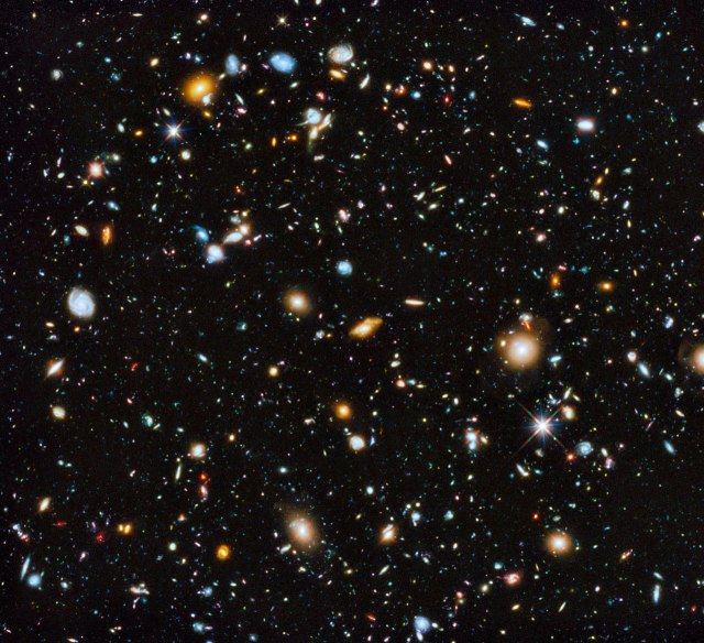Photo: Hubble Ultra Deep Field 2014