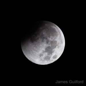 Photo: Umbral Shadow Crossing Moon by James Guilford
