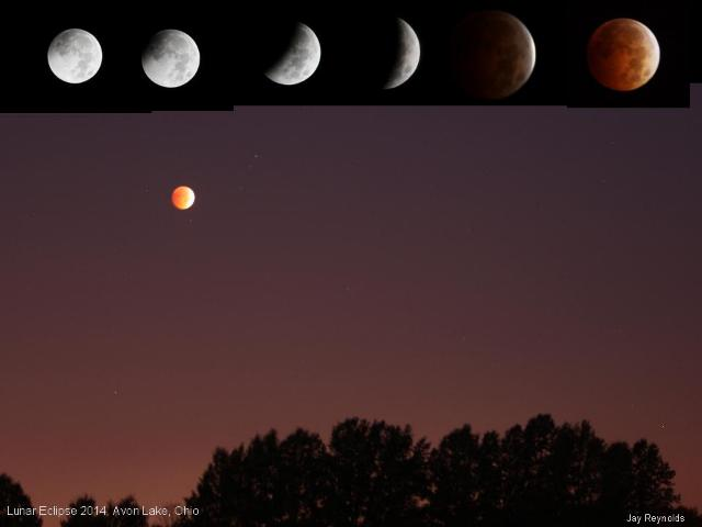 Photo: Lunar Eclipse Composite by Jay Reynolds