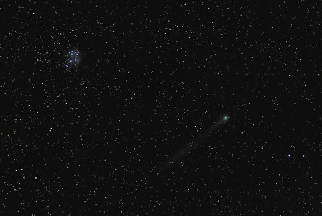 Photo: Comet C/2014 Q2 by Dave Watkins