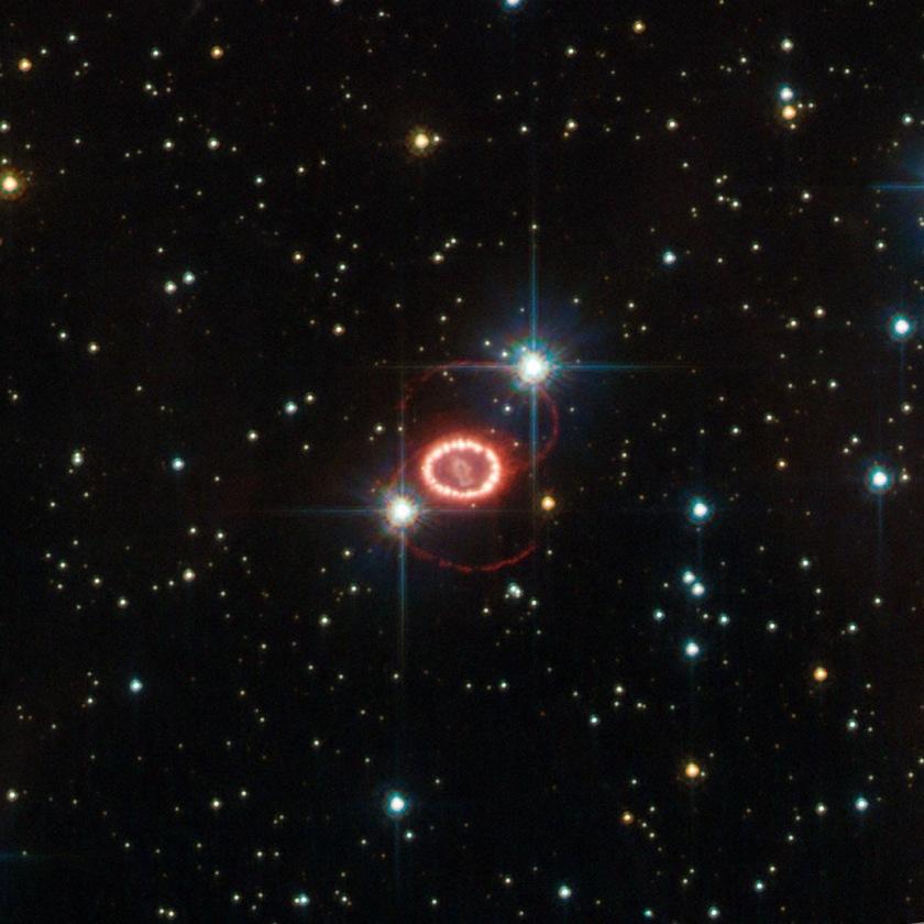 Photo: Remnant Supernova 1987A