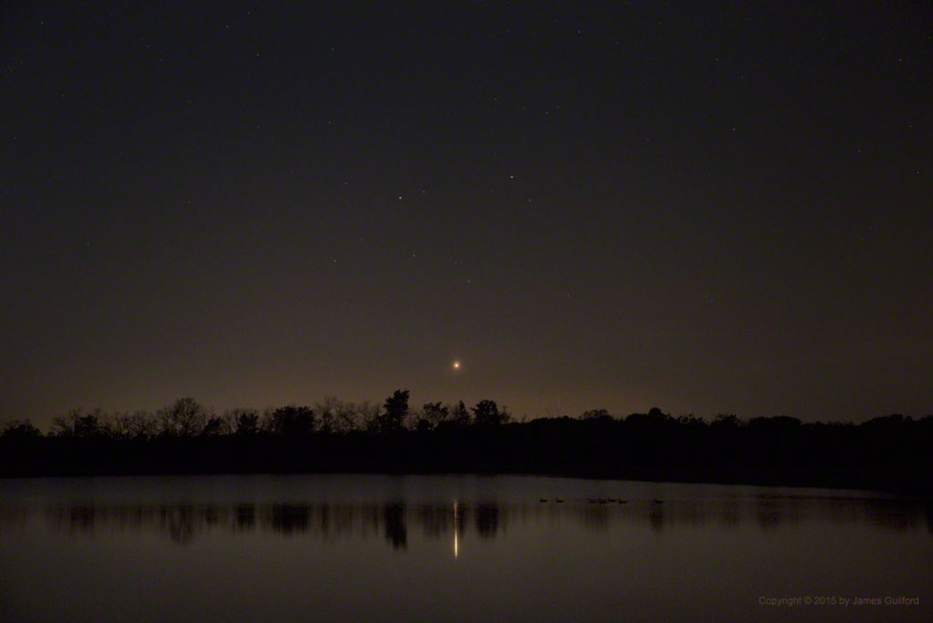 Photo: Venus & Gemini Setting. Photo by James Guilford.