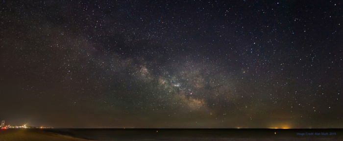 Photo: The Milky Way by Alan Studt
