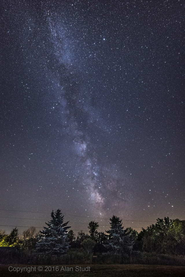 Photo: Summer Milky Way. Photo by Alan Studt.