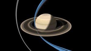 Cassini ring-grazing orbits. Image credit: NASA/JPL-Caltech