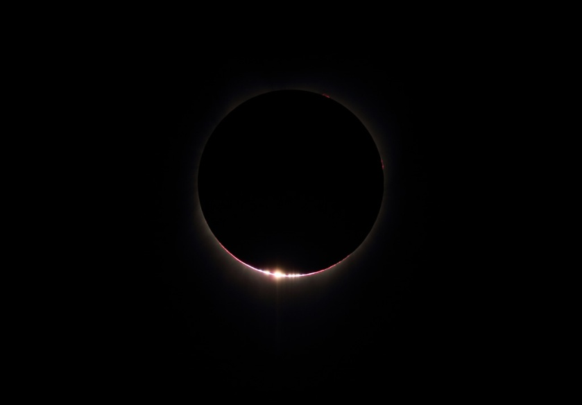 Photo: Diamond Ring Effect. Credit: Chris Christe