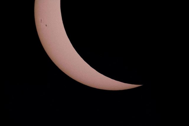Photo: Partial Solar Eclipse. Credit: Bruce Lane