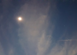 Photo: Totality with Venus. Credit: Ted Sauppé