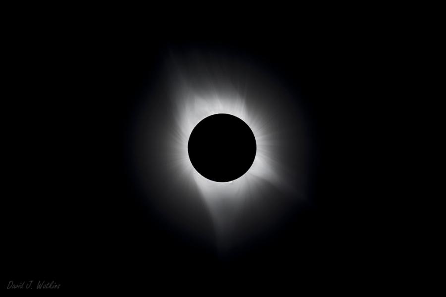 Photo: Total Solar Eclipse by David J. Watkins