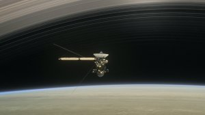 Image: Artist's concept of Cassini spacecraft at Saturn. Credit: NASA/JPL-Caltech