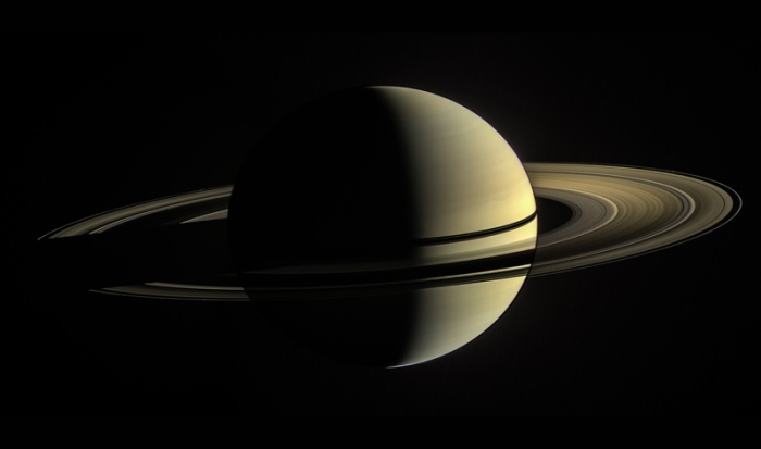 The Cassini spacecraft ended its mission on Sept. 15, 2017. Image Credit: NASA/JPL-Caltech/Space Science Institute