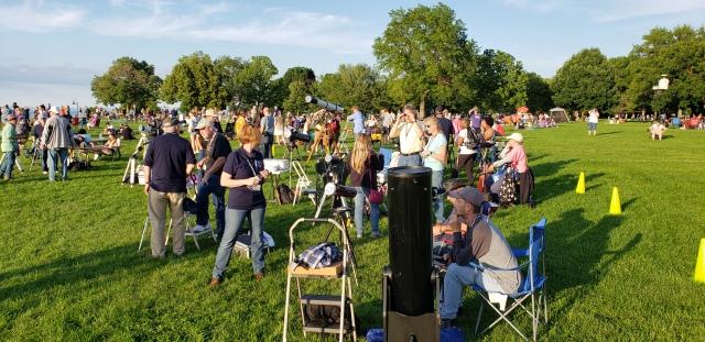 Photo: CAA Members at Lakewood Park. Photo by Carl Kudrna.