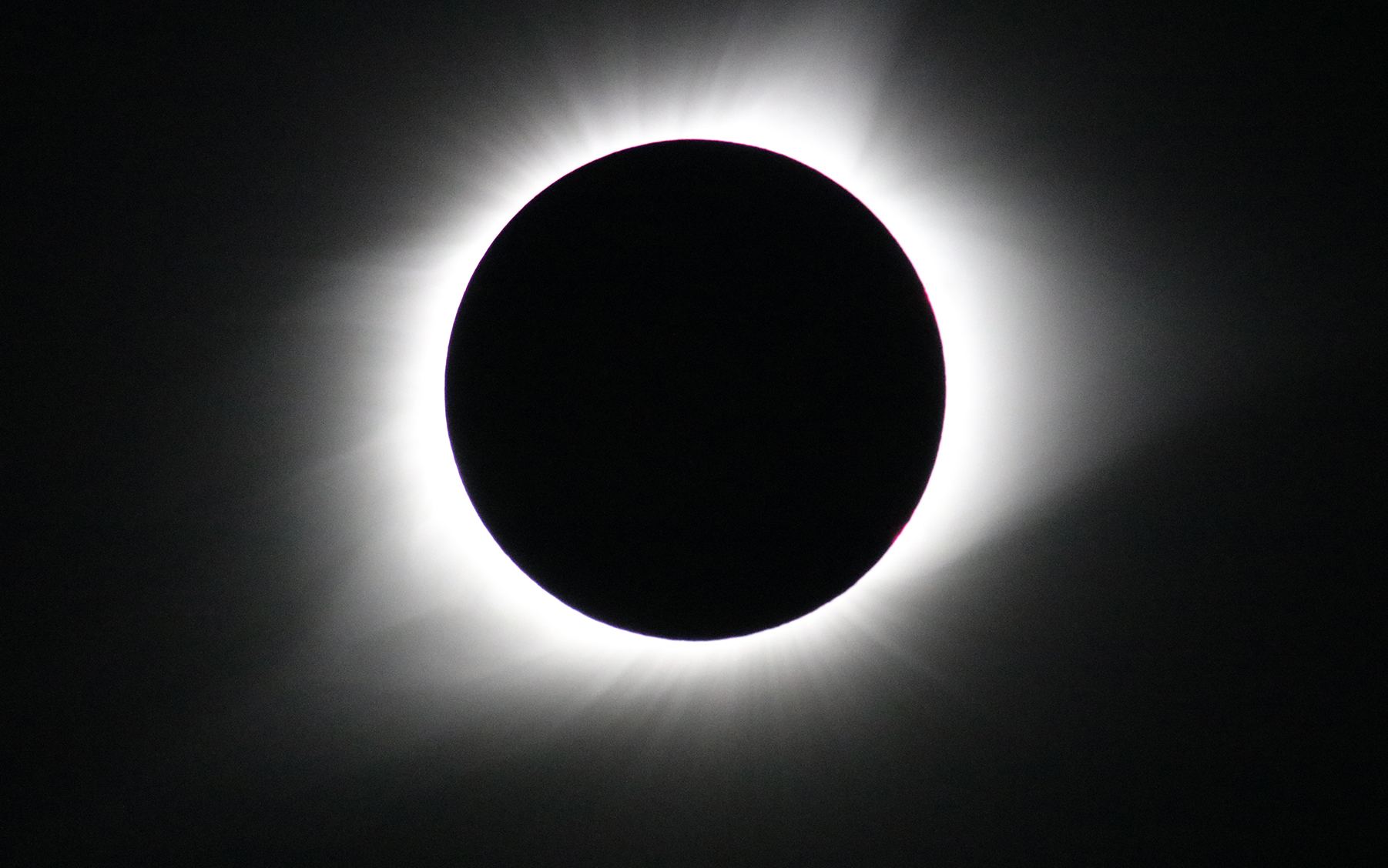 Photo of August 21, 2017 total solar eclipse. Credit: NASA/Gopalswamy